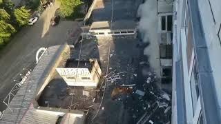 В Новомосковске в многоэтажном доме  взорвалась квартира