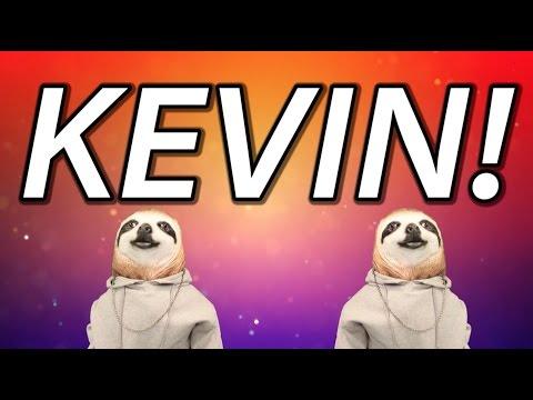 HAPPY BIRTHDAY KEVIN! - SLOTH HAPPY BIRTHDAY RAP
