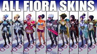 All Fiora Skins Spotlight 2020 (League of Legends)