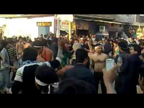 Meerut Azadari Abdullapur Nohekhwan By Ali Shahvez Zaidi Youtube