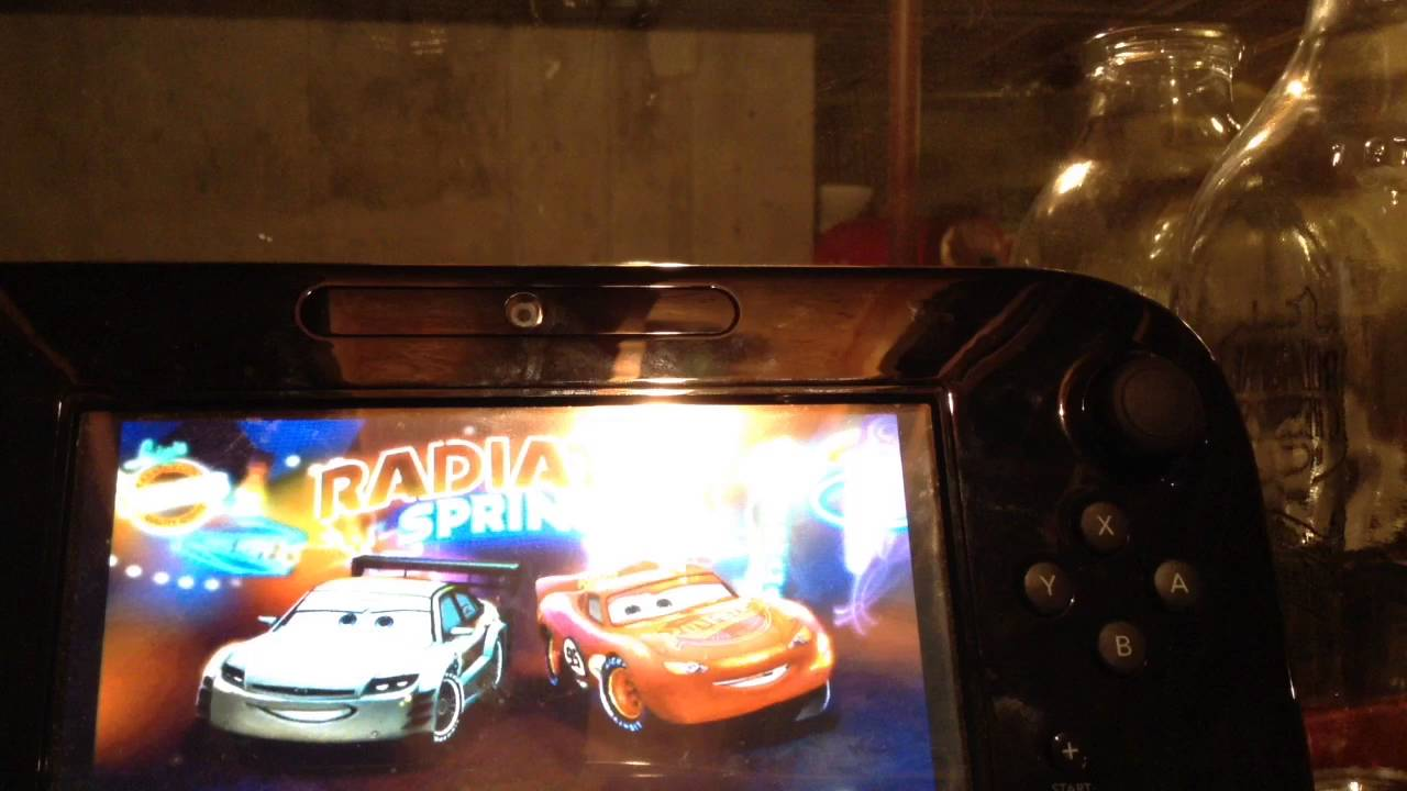 Cars Mater National Wii Part