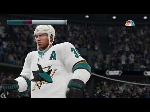 NHL 19 - San Jose Sharks Vs Colorado Avalanche Shootout