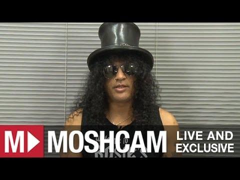 Slash talks best shows, stage invaders and Justin Bieber | Moshcam