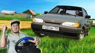 БУДНИ ТАКСИСТА - ВЫБИРАЮ НОВУЮ МАШИНУ в CITY CAR DRIVING + РУЛЬ