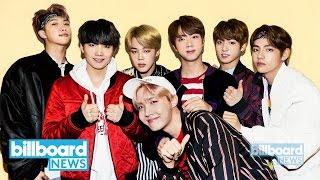 BTS Scores Third-Most Weeks at No. 1 on Social 50 Chart   Billboard News