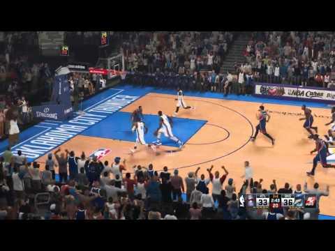 Let's Play NBA2k15 - Atlanta Hawks vs. Oklahoma City Thunder