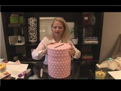 Make A Wedding Gift Card : DIY Wedding Preparation : How to Make a Wedding Card Box - YouTube