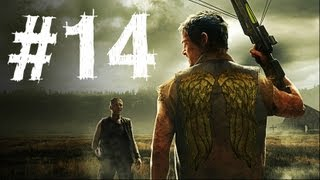 The Walking Dead Survival Instinct Gameplay Walkthrough Part 14 - Evacuation (Video Game)