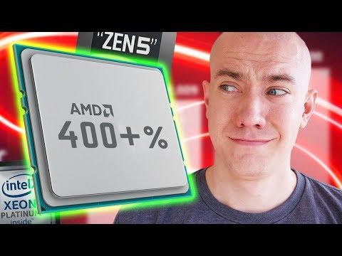 AMD 400% Better Than Intel?