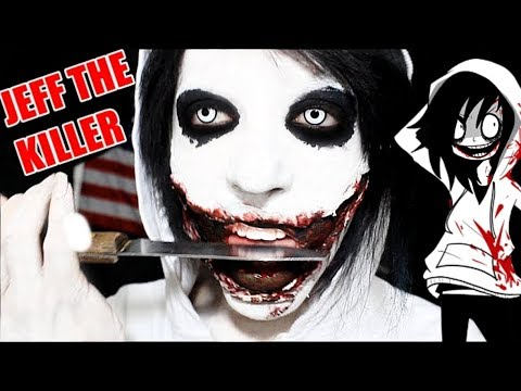 maquillage halloween jeff the killer