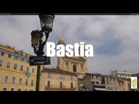 (HD1314) 3 minutes in Bastia, Corse - Corsica - France, Europe - GoPro - CityTrip