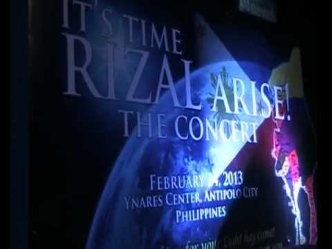 IBUHOS MO Clip - Rizal Arise Concert (@Ynares Center, Feb24,2013)