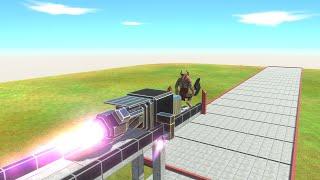 ⚡ Rocket Hammer - 🦖 Animal Revolt Battle Simulator 🦕
