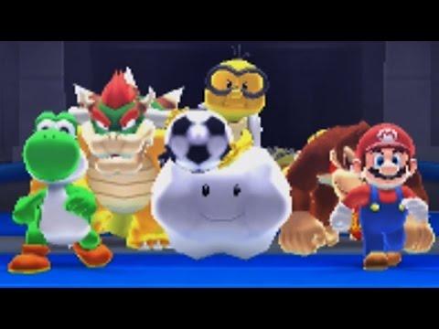 Mario Sports Superstars: Soccer Exhibition - Team Mario VS Team Yoshi!