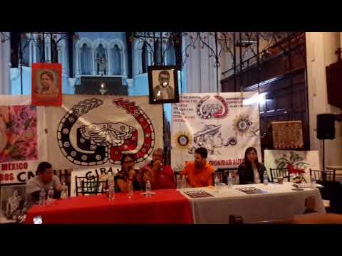 Mexican National Indigenous Council in NYC Last Words (With English translation)