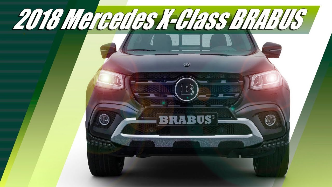 Download 2018 Mercedes-Benz X-Class D4 Tuned By BRABUS