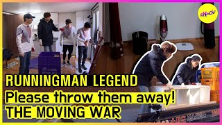 [RUNNINGMAN THE LEGEND] If you win, this house will be your 'Hideout'! THE MOVING WAR💥 (ENG SUB)
