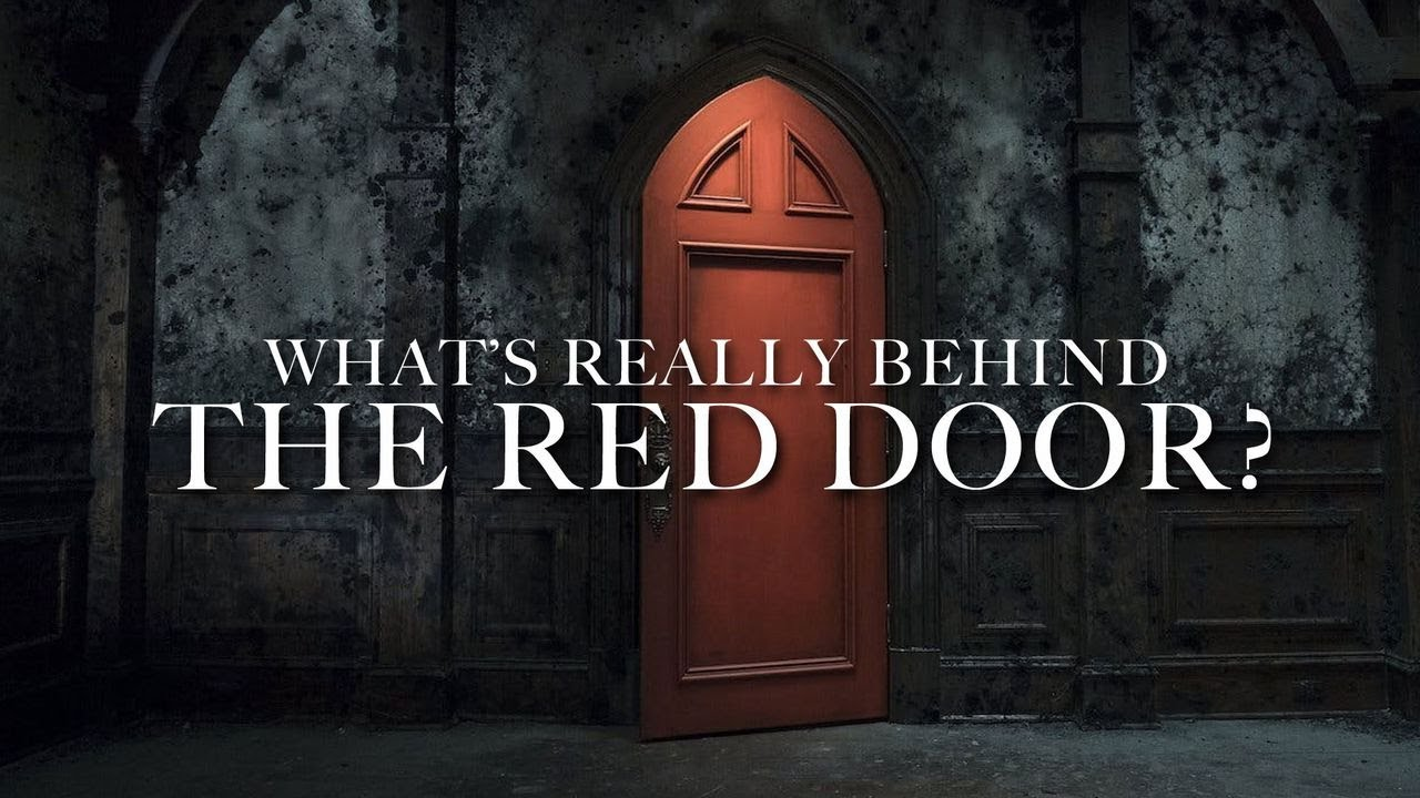 What S Really Behind The Red Door From The Haunting Of Hill House Video Lokol Comedy