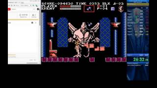 Castlevania III Alucard Highlights - 0.71 seconds from WR