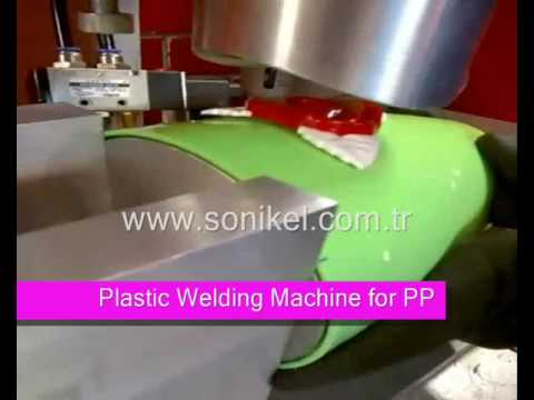 Ultrasonic Welding Machine For PP And PE Plastic Parts