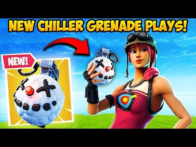 * NEU * CHILLER GRENADE IST Wahnsinn! - Fortnite Funny Fails und WTF Moments! # 454 + video