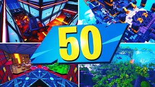 TOP 50 MOST FUN Creative MAPS In Fortnite | Fortnite Creative Map CODES
