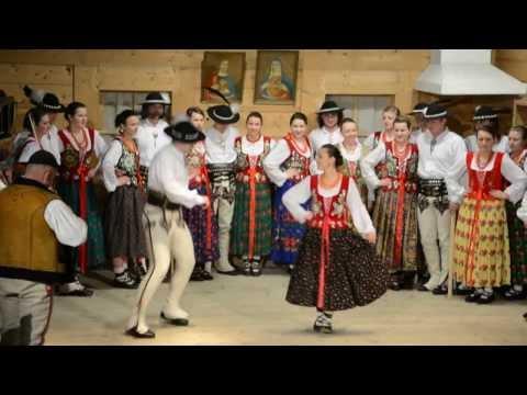 Taniec góralski - konkurs par tanecznych w Bukowinie Tatrzańskiej 2014