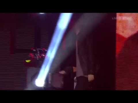 Tom Odell presenting at the Swiss Music Awards 2014