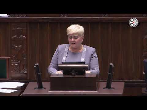 Małgorzata Pępek –  wystąpienie z 6 marca 2018 r.