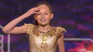 11 latka zatańczyła bardzo trudną choreografię! Jurorzy byli zachwyceni! [Mam Talent!]