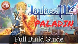 LaplaceM: BUILD PALADIN Full Guide | DARK TANKER LAPLACE VERSION [Lv.56]