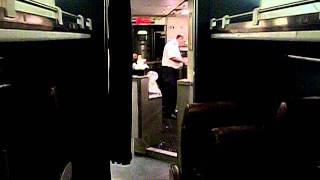 Tornado Warning on Amtrak Train #392 - Ashley, IL  5/25/2011