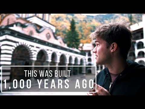 This Was Built 1,000 YEARS AGO (Rila Monastery, Bulgaria)