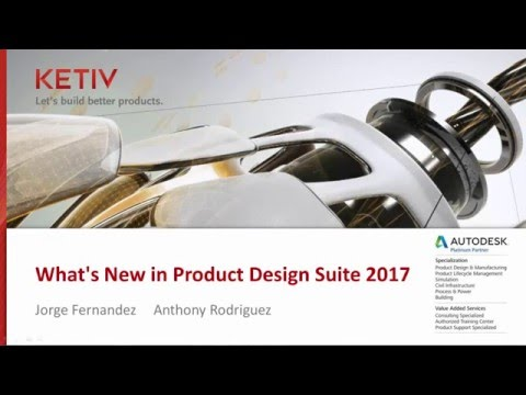 What's New in Autodesk's Product Design Suite 2017?