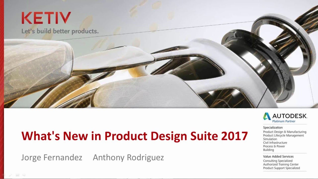 What S New In Autodesk S Product Design Suite 2017 Youtube