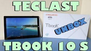 Teclast Tbook 10 S 2 in 1 Tablet - Unboxing & First Look