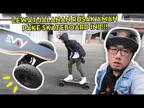 Unboxing Evry Trek electric skateboard! Bukan Boosted Board