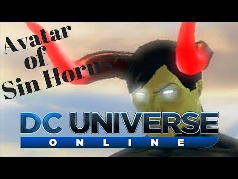 DCUO: Demon Horns: How to get avatar of sin horns!