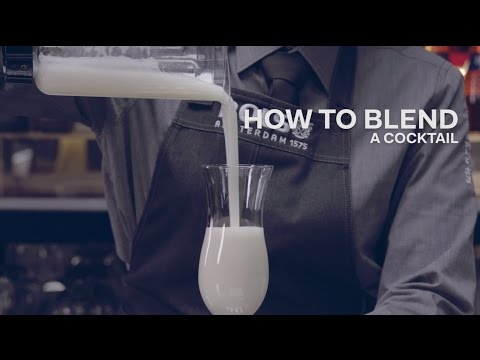 How to Blend a Cocktail - Bols Bartending Academy