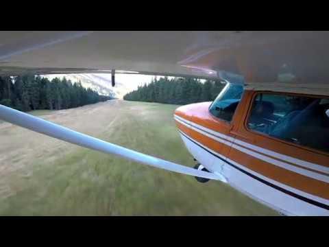 Cessna 182 Idaho - Moose Creek USFS (1U1) July 2018