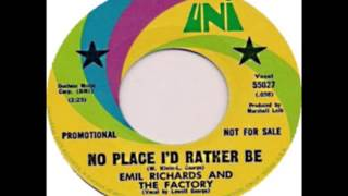Emil Richards & The Factory - No Place I