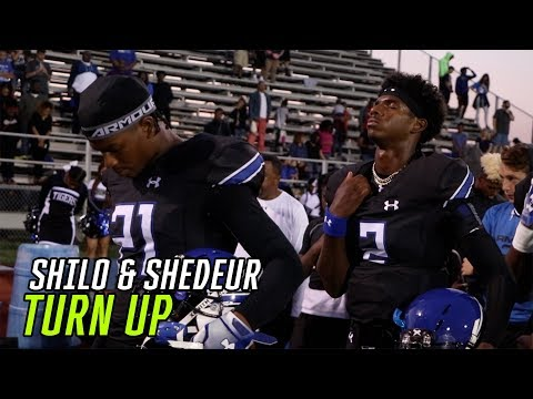 Shedeur And Shilo Sanders Combine For SIX TDs In ROUT! Shilo Adds 2 PICKS & EPIC Kickoff Return  🔥