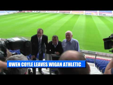 OWEN COYLE LEAVES CLUB