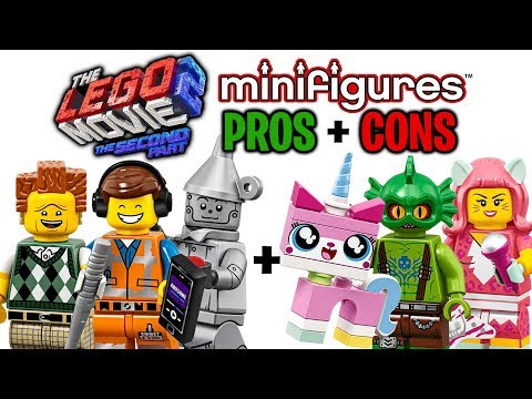 LEGO Movie 2 Minifigures Series PROS and CONS - Good vs. Bad!