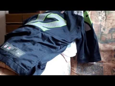 NFL Counterfeit 'Nike Limited' Jersey vs Genuine Nike 'Game'