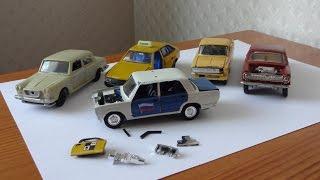 видео Автолегенды СССР ВАЗ, Жигули масштабные модели автомобилей. Большое яйцо сюрприз. USSR DeAgostini