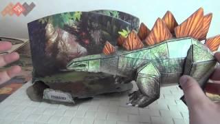 Обзор 3D пазлы от Cubic Fun - Динозавры!