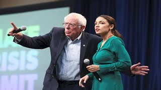 Thousands Rally with Bernie and AOC at Iowa Climate Summit