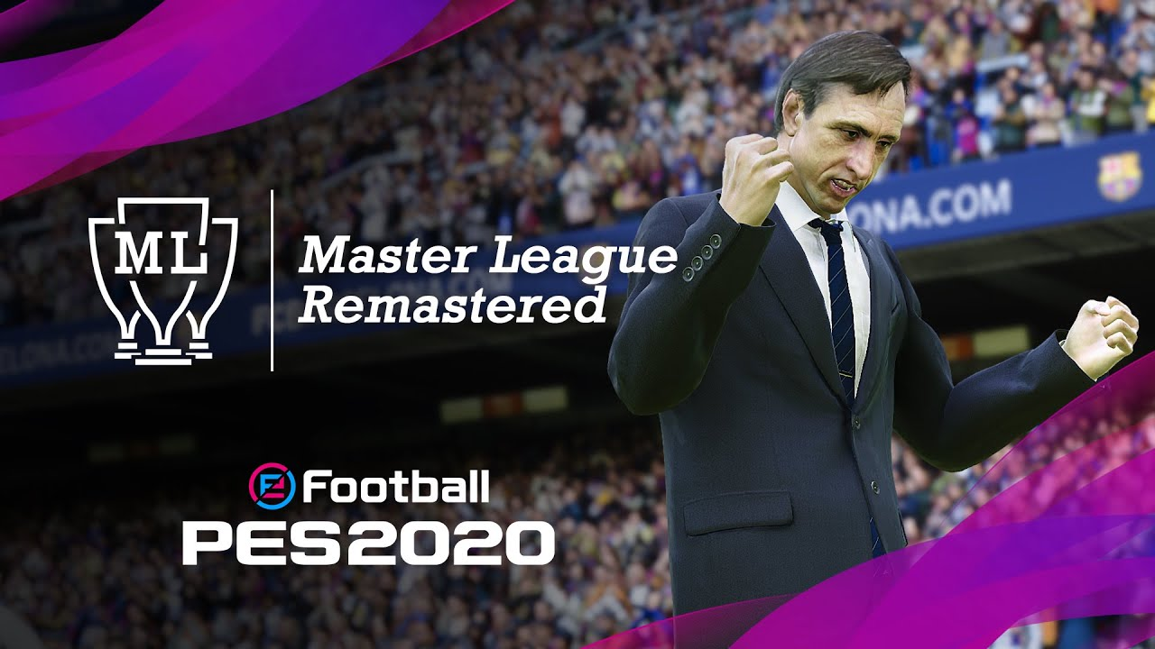 eFootball PES 2020 Master League trailer is finally here