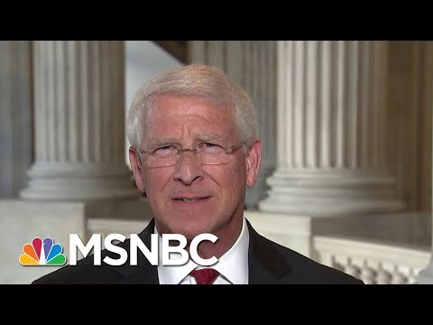 Sen. Roger Wicker: Would've Told Bob Corker Not To Get Into 'Spitting Contest' | | MTP Daily | MSNBC